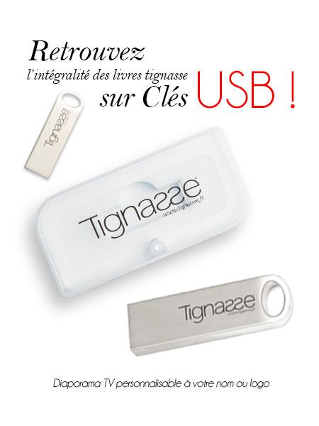 Clés USB Books Tignasse