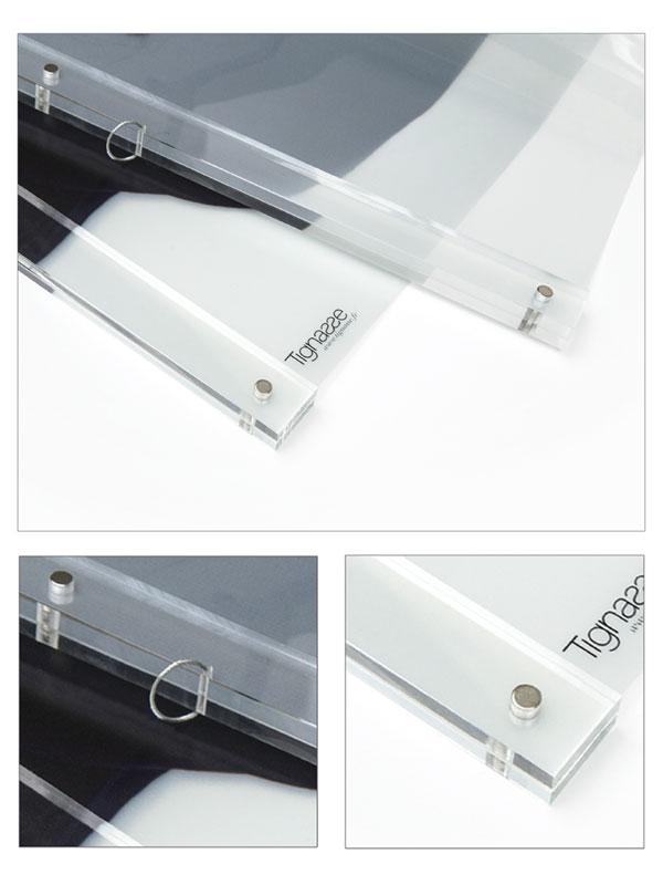 Kit de suspension plexi